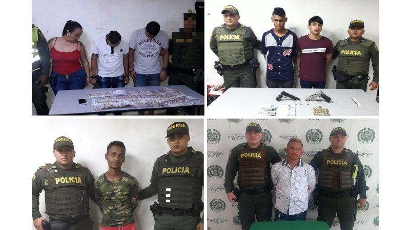 Policía captura a 87 personas en Barranquilla y su área metropolitana, durante el puente festivo