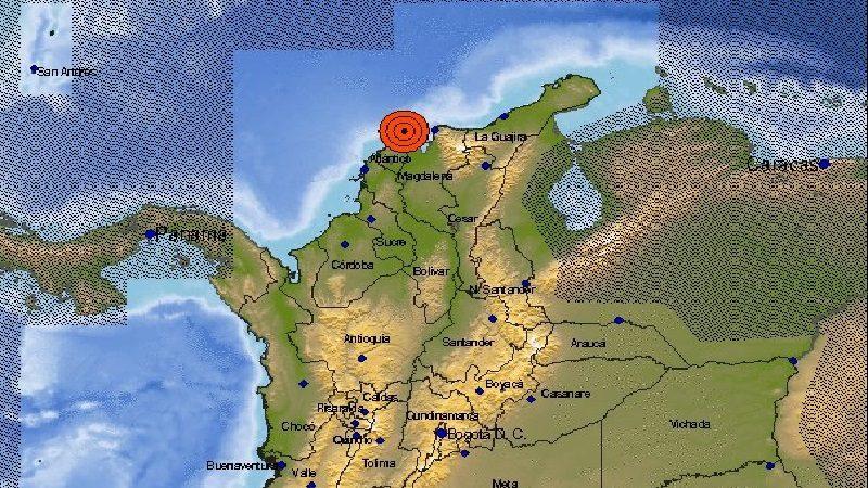 Temblor despertó a muchos barranquilleros en la madrugada de este martes 26 de junio