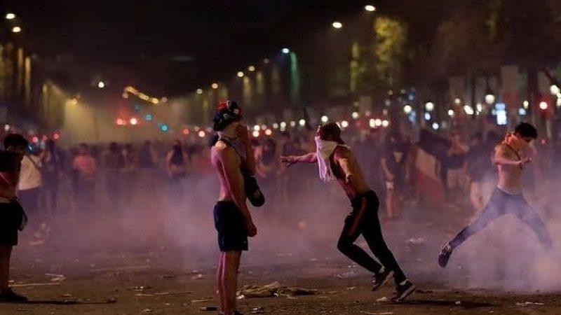 Al menos dos muertos, varios heridos y saqueos por celebración en Francia