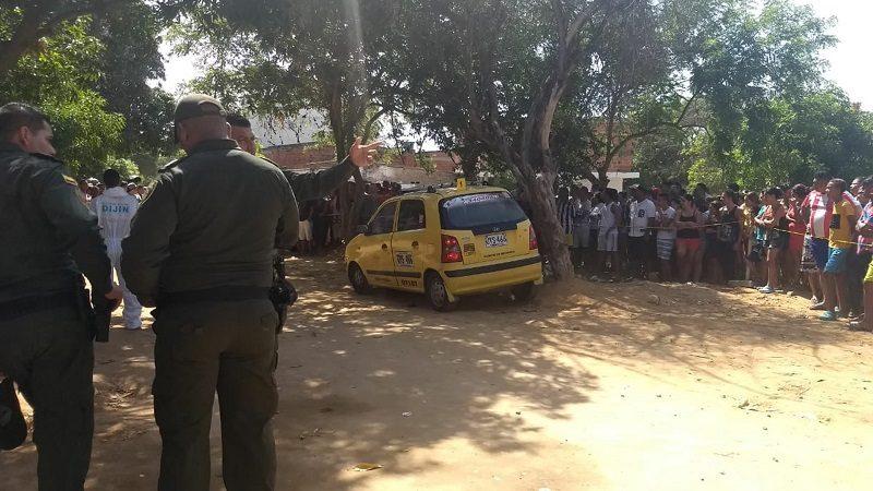 Asesinan a bala a taxista en Villa Aragón, en Soledad