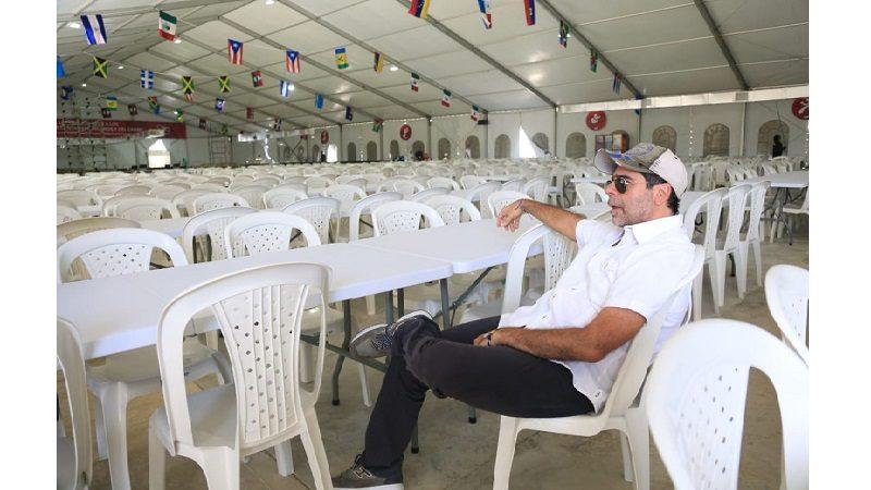 Barranquilla para los Juegos Centroamericanos