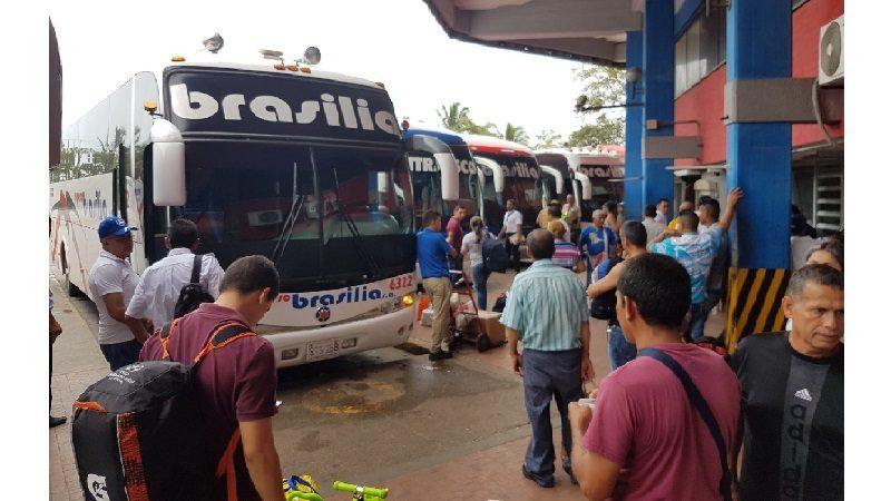 Brasilia y Unitransco movilizaron 500 mil pasajeros durante vacaciones y Mundial