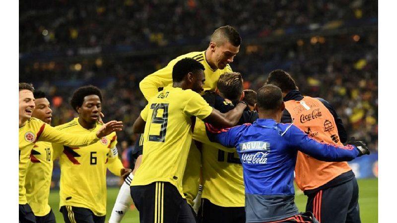 Colombia, la única selección que le ganó a Francia en el último año