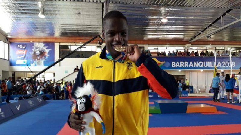 Colombia sumó un oro en el Karate y Venezuela en tres finales se fue en blanco
