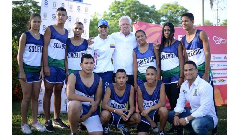 Con deportistas y entrenadores, Soledad hace presencia en Juegos Centroamericanos y del Caribe