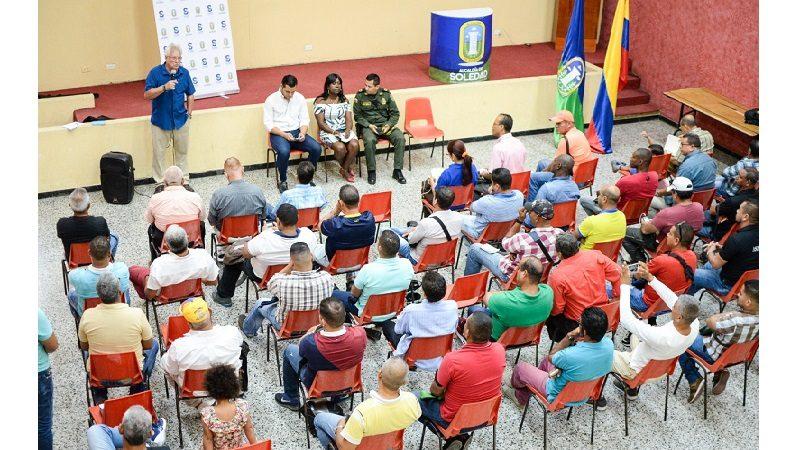 Conforman de red de apoyo en Soledad con pensionados de Policía, Ejército y Armada