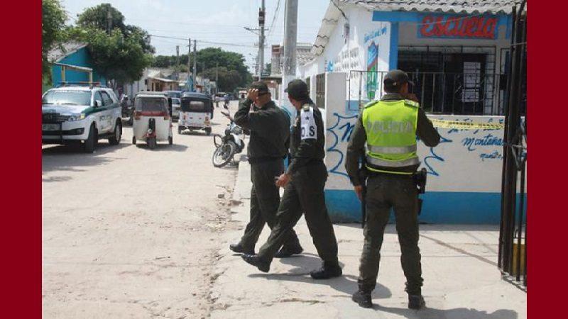 De dos tiros fue asesinado un joven en Malambo