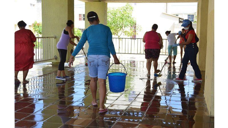 En Los Andes y Villas de San Pablo, Distrito y comunidad trabajan por entornos seguros 1