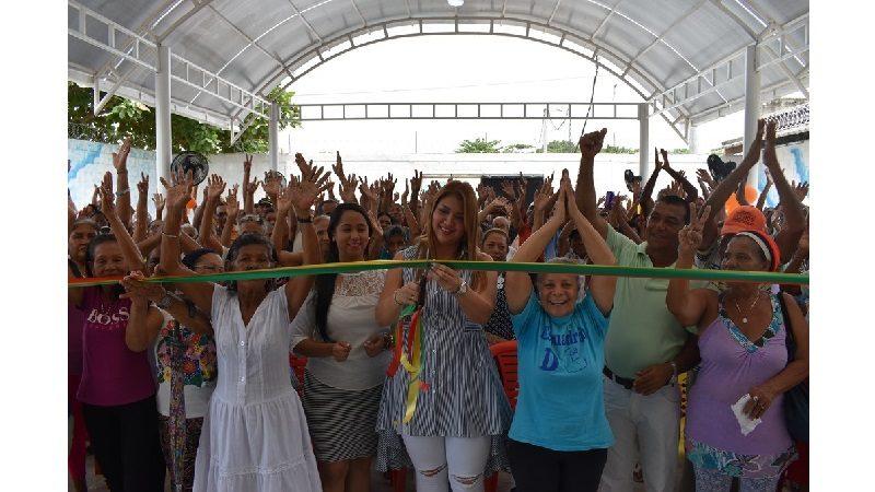 Entregan salón múltiple y oratorio para los adultos mayores en Malambo