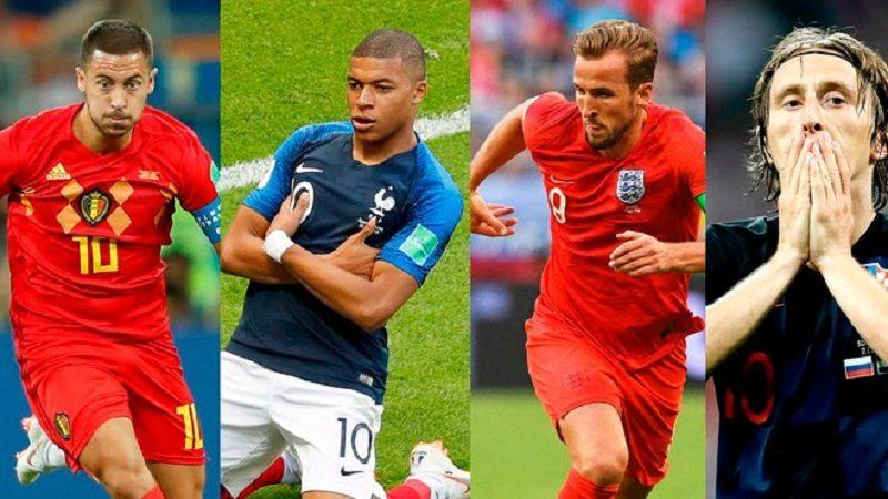 Francia vs. Bélgica e Inglaterra vs. Croacia, las semifinales en Rusia