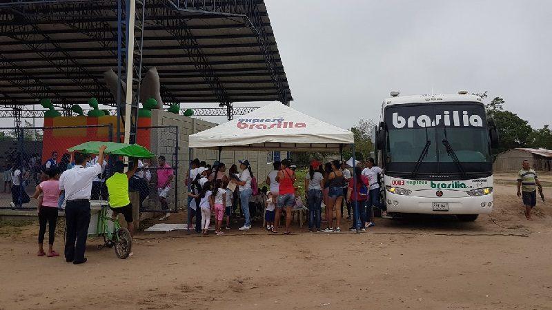 Fundación Brasilia benefició a 1.500 personas con brigadas médicas gratuitas