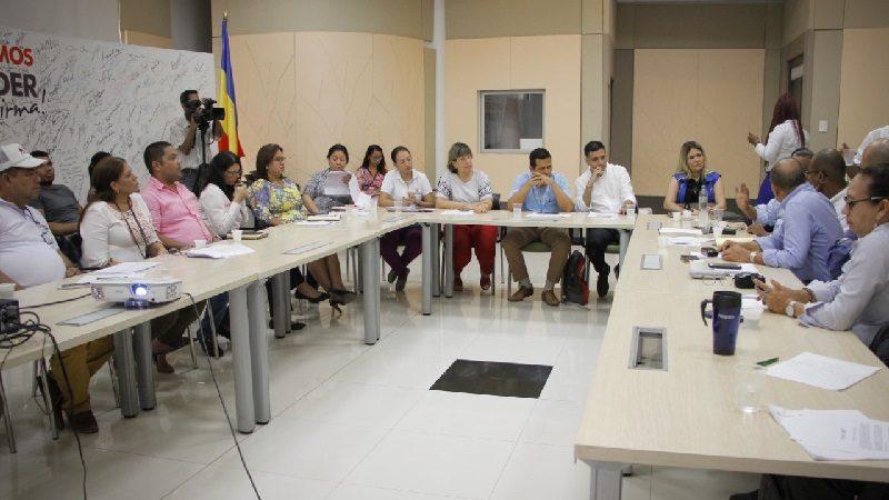 Gobernación y Red Unidos presiden segundo Comité Departamental de Lucha contra la Pobreza Extrema