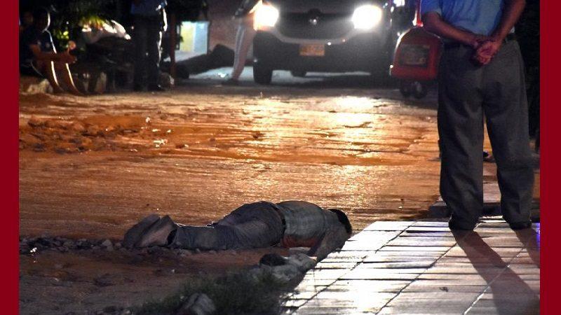 Hombre asesinado en medio de atraco en Simón Bolívar estaba de visita en Barranquilla