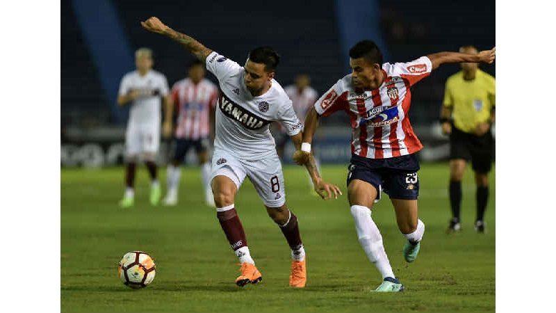 Junior empató, le ganó en penaltis a Lanús y clasificó en Copa Suramericana