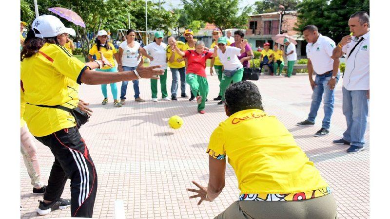 La vitalidad y energía de los adultos mayores del Distrito compitieron en sus propios Juegos