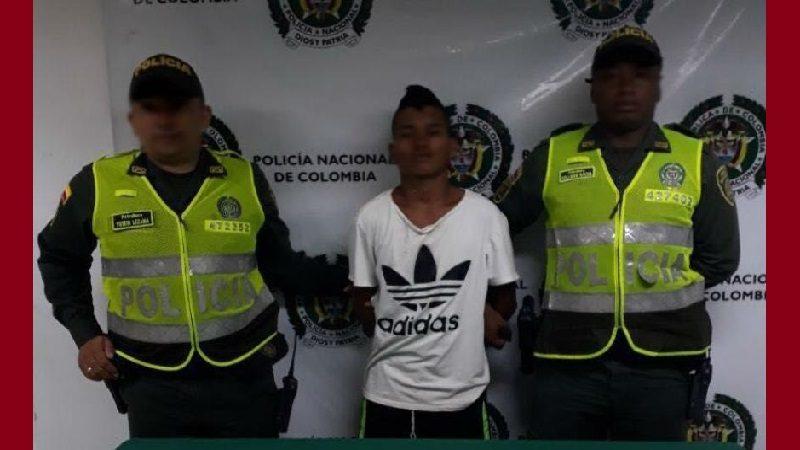 Lo capturan cuando vendía marihuana por las calles de Baranoa