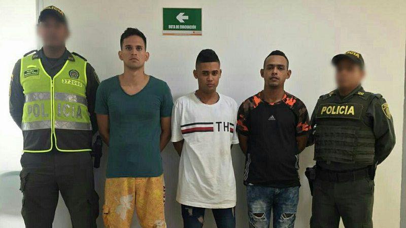 Los capturan por el homicidio de un hombre en el barrio Rebolo