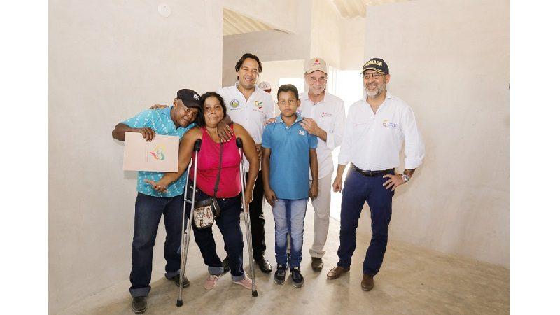Minvivienda entregó 300 viviendas a familias en Baranoa
