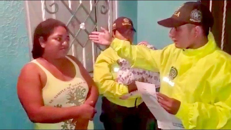 Recuperan a bebé que había sido raptada en Salgar y capturan a la sospechosa