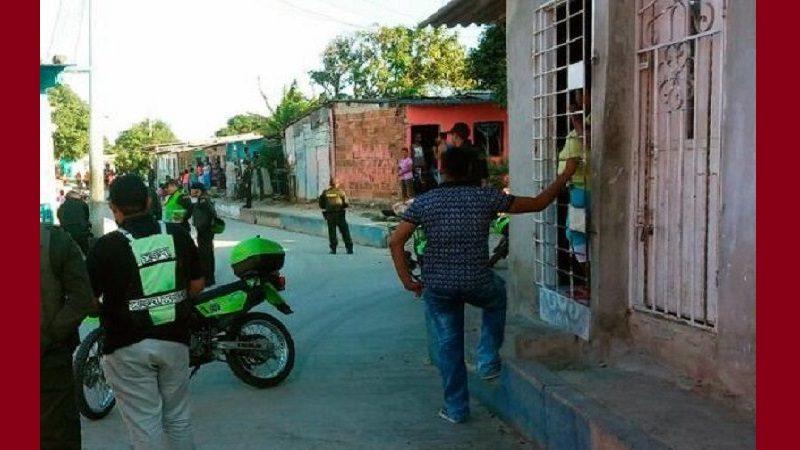 Un muerto y un herido deja ataque sicarial en el barrio Porfin de Barranquilla