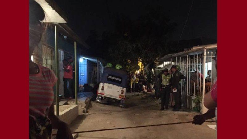 Ataque sicarial deja doble homicidio en el barrio Villa María de Soledad