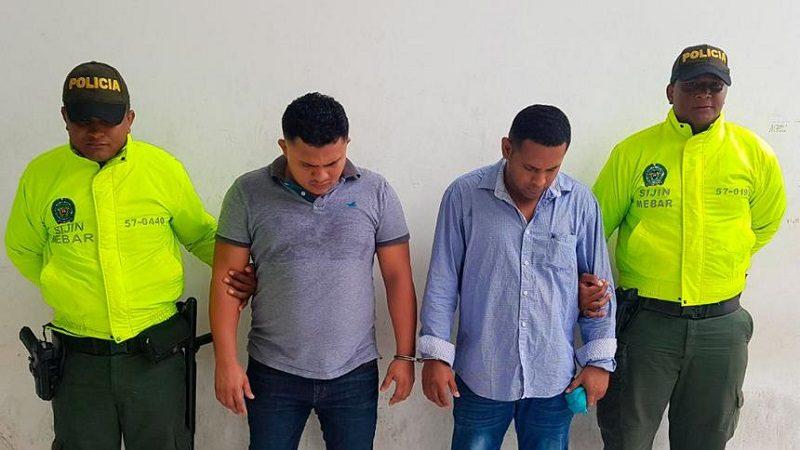 Capturan a 'El Cabezón' y 'El Mico', presuntos atracadores de taxistas