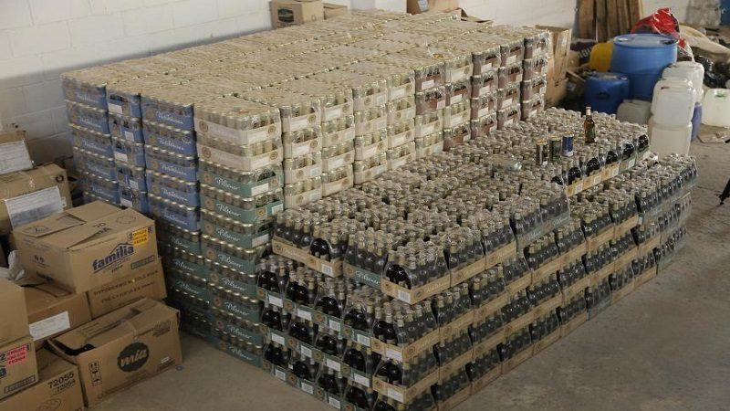 Decomisan 11.328 unidades de cerveza alemana de contrabando, en Puerto Colombia