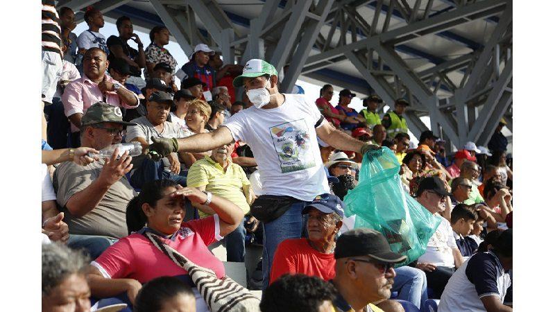 El reciclaje también ganó medalla durante los Juegos Centroamericanos y del Caribe 2018