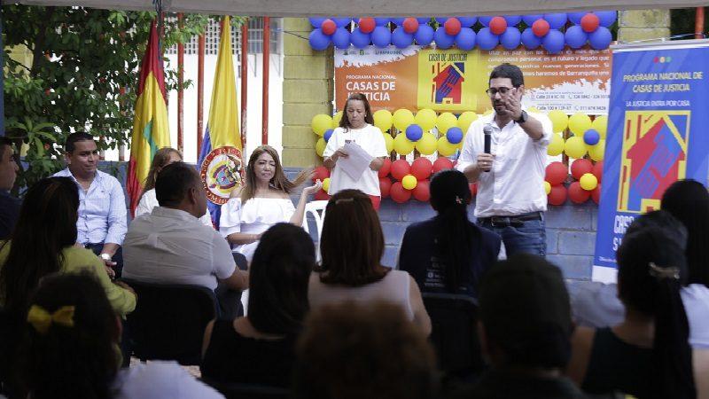 Habitantes del suroriente reconocen importancia de Casa de Justicia Simón Bolívar