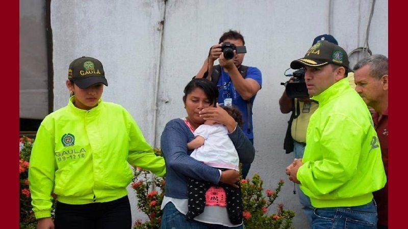 Rescatan a bebé de seis meses que había sido raptada en Soledad