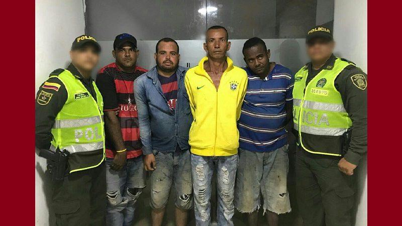 Se robaron el ancla de un barco en el Malecón Avenida del Río y los capturaron