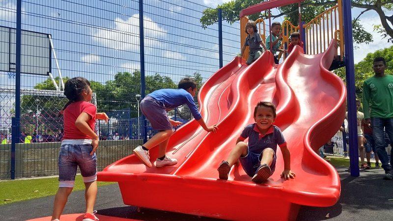Barrio San Vicente de Barranquilla estrena parque y plazoleta