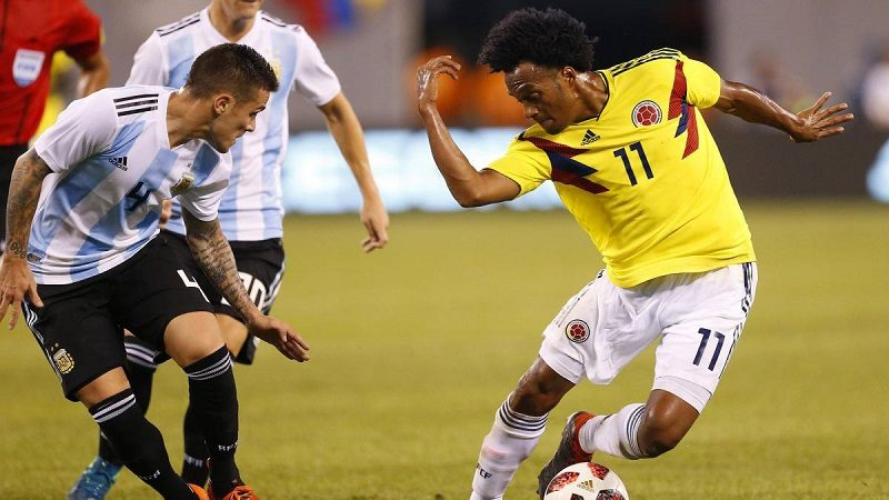 Colombia resistió, jugó bien y empató 0-0 con Argentina ok