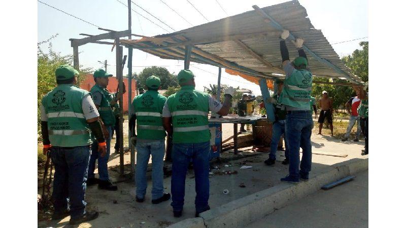 Distrito inició verificación a construcciones en lote privado en sector del suroccidente