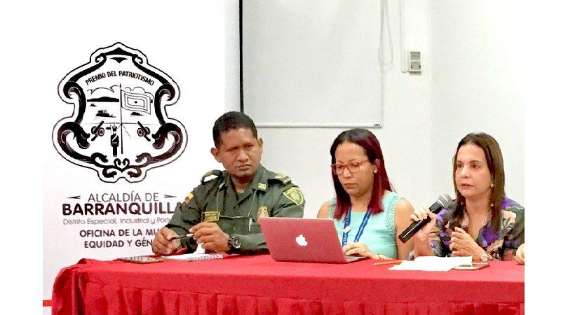 Distrito une esfuerzos en atención de violencia contra la mujer