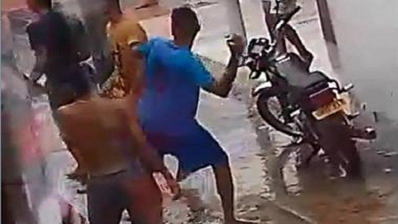 Pandillas se enfrentan a tiros y piedras en la Ciudadela 20 de Julio