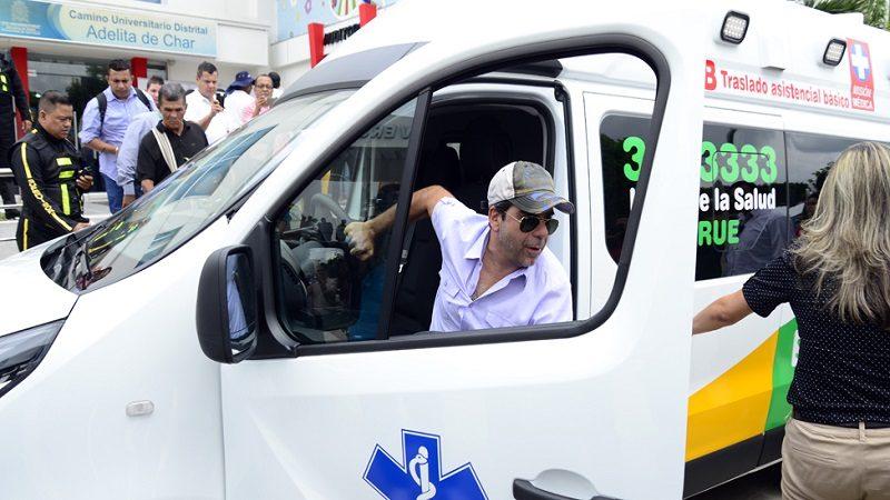 """Para evitar """"guerra de ambulancias"""", Distrito reglamentó su uso llamando a la línea 123"""