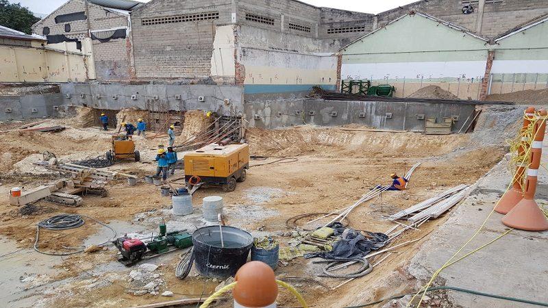 Avanzan obras de construcción de la Fábrica de Cultura de Barranquilla