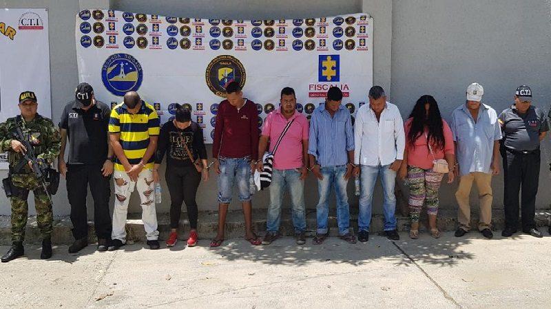 Caen 18 integrantes del 'Clan del Golfo' en Atlántico, Magdalena y Bolívar