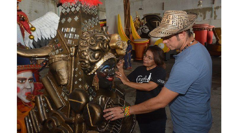 Rubiel Badillo, ganador de Portafolio de Estímulos del Distrito, a Festival de Alebrijes en México