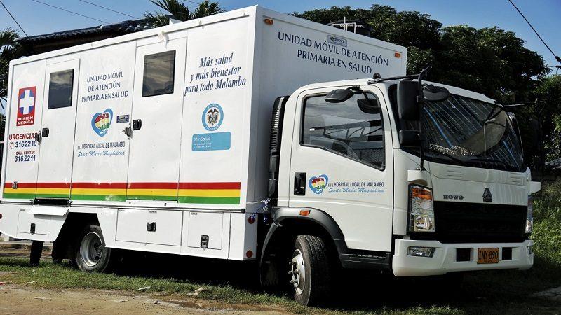 Servicios de salud se acercan a la comunidad de Malambo con Unidad Móvil