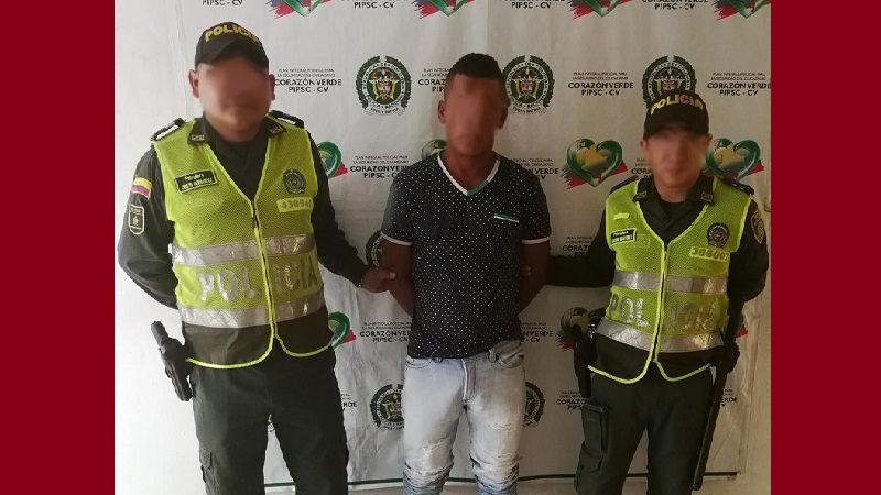 Tenía detención domiciliaria y lo encontraron armado por las calles de Ponedera