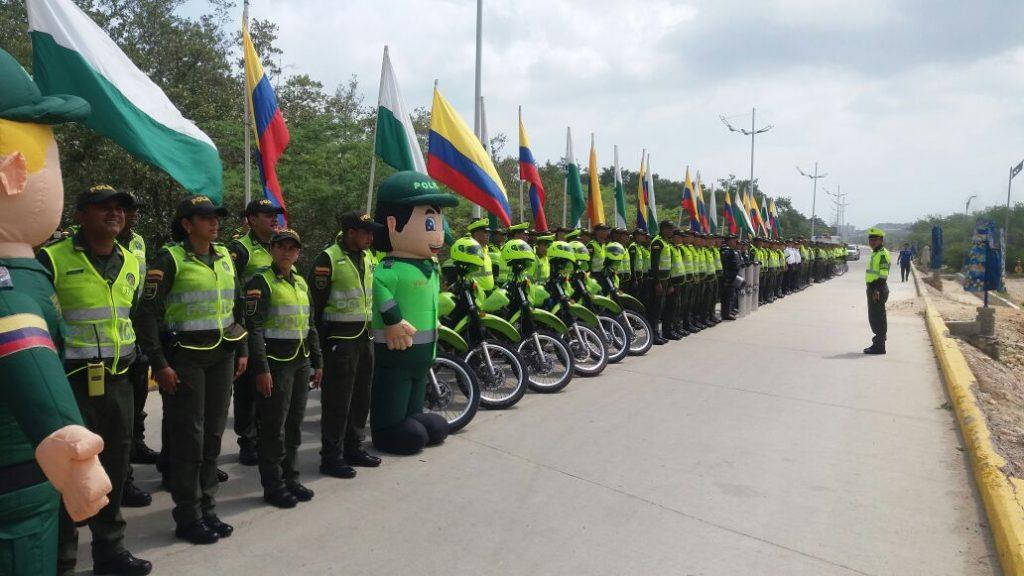 policias formando