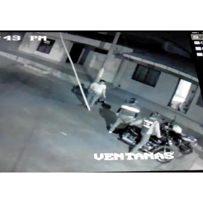 robo moto barrio montes