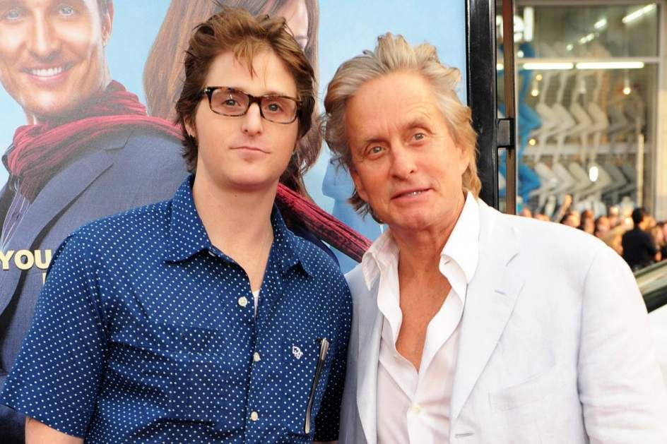 Michael Douglas e hijo