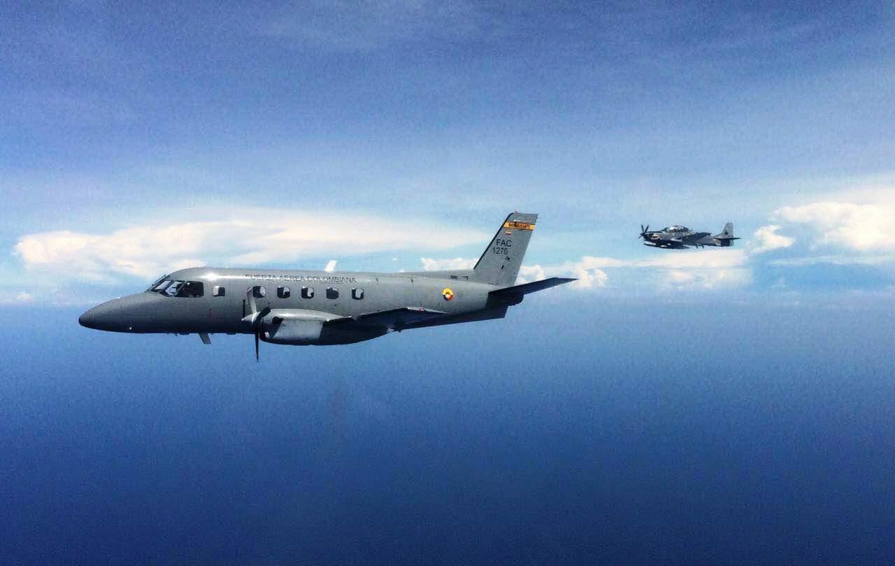 aviones fuerza aerea