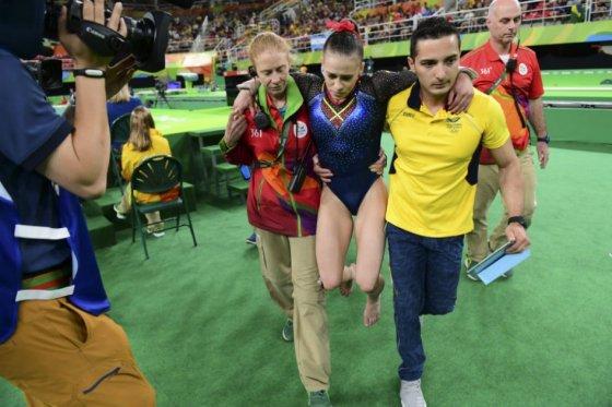 catalina escora lesionada olimpicos