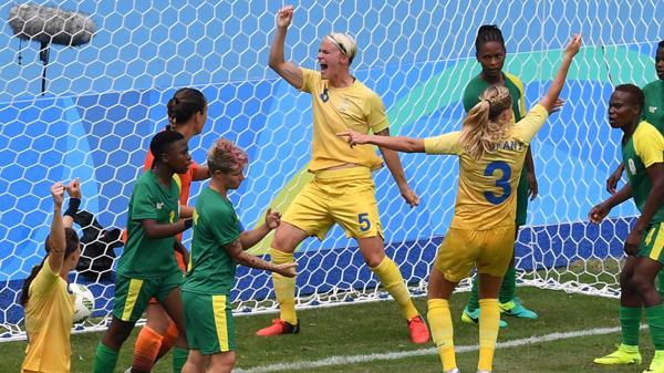 futbol suecia y sudafrica mujeres