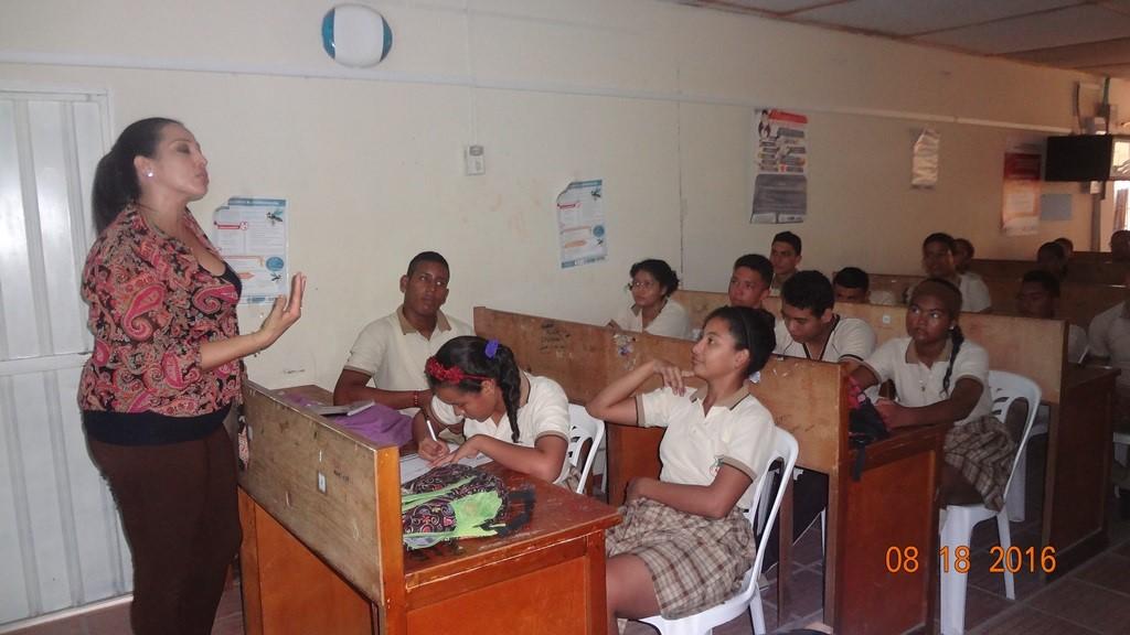 malambo estudiantes colegio