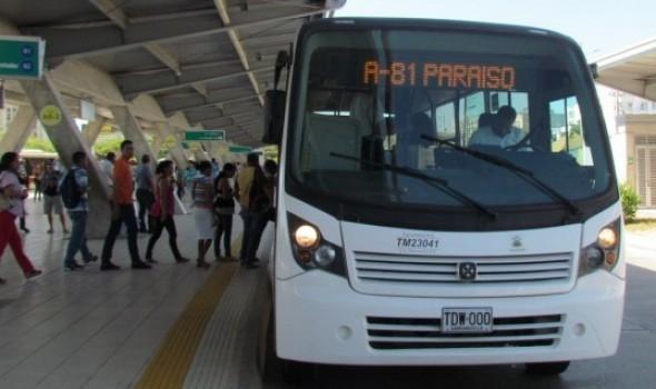 transmetro a81 paraiso